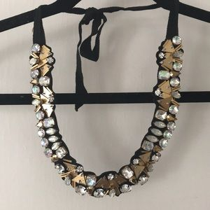 J.Crew jeweled collar necklace